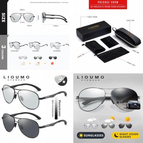 Солнцезащитные очки Liuomo