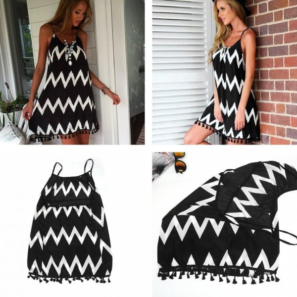 Пляжное платье (5 размеров)