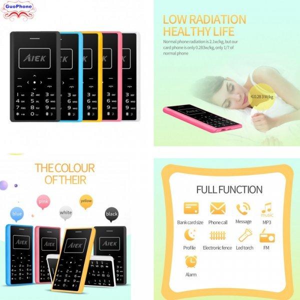 Кнопочный телефон Aiek X7 с Nano-Sim