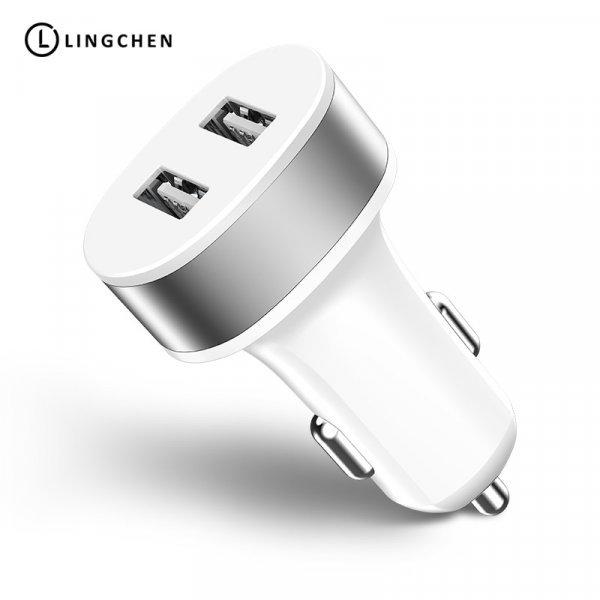 Автомобильное зарядное устройство LINGCHEN (2-USB порта)