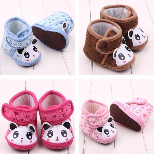 Утепленные ботиночки-пинетки для младенца
