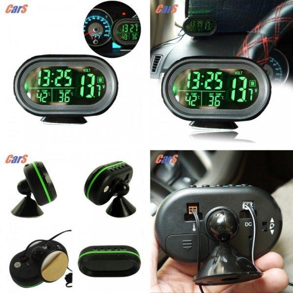 Съемные часы с мультифункциями для авто
