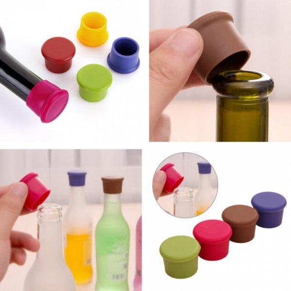 Пробка для бутылки вина (5 цветов)