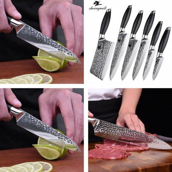 Поварские ножи Shuang Ma Li HP-440C Knife Set