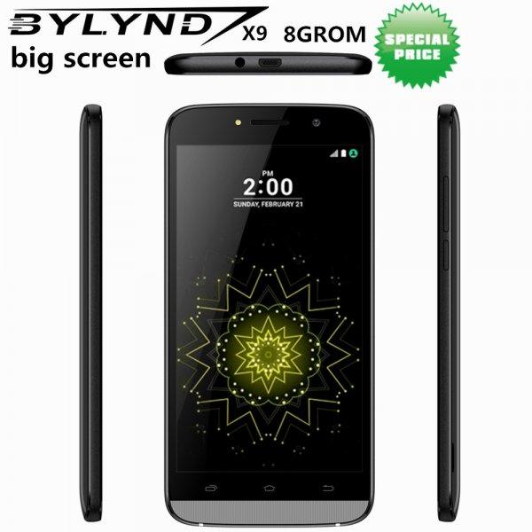 "Оригинальный смартфон BYLYND X9  5.5"" 5 MP Android 6.0 3G 8 ГБ"