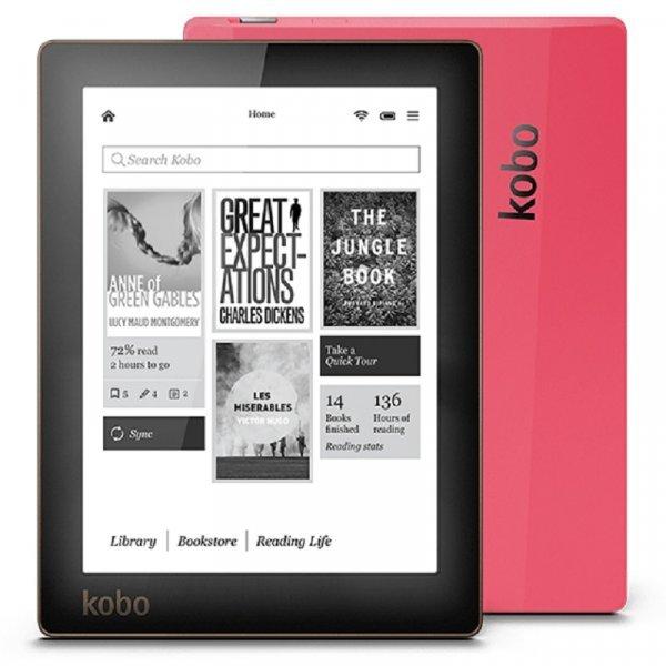 Электронная книга Kobo Aura с подветкой