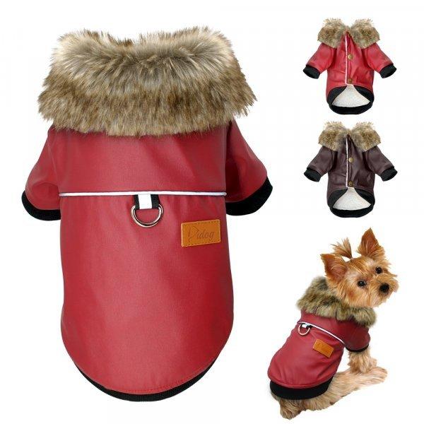 Яркая куртка для собак Didog спасет от непогоды