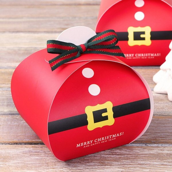 Подарочная упаковка на Новый год Leiso (2 вида, 25 шт)