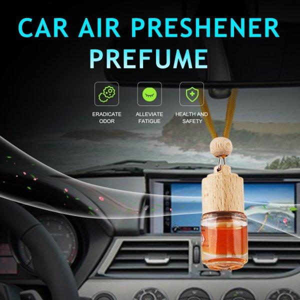 Освежитель воздуха для машины AUTO CARE (4 цвета, 4.5 мл, 4.5*4.5 см)