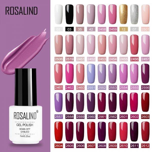 Шикарный гель лак Rosalind (54 цвета)