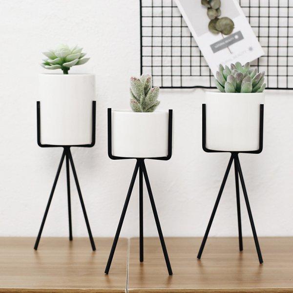 Чумовые Минималистичные вазы для кактусов FGHGF (3 цвета. 2 шт, 8*20 см)