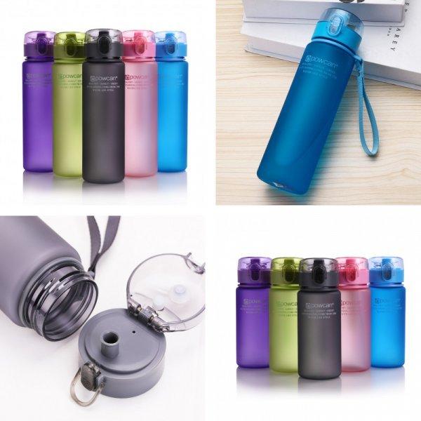 Бутылка для воды  HILIROOM (4 объема, 10 цветов)