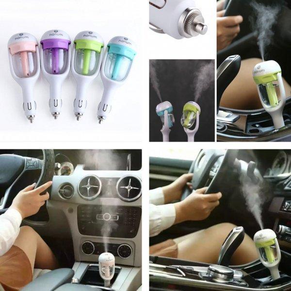 Автомобильный диффузор для эфирных масел Ruijie 12 В (4 цвета)