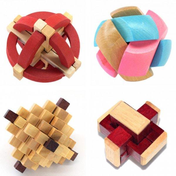 3D пазл (4 вида)