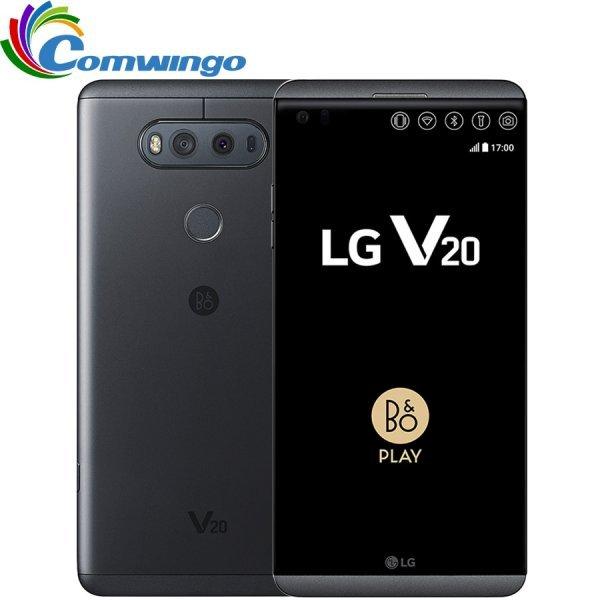 Мощный смартфон с хорошей камерой Lg V20 4 Гб ОС Android 7,0 5,7 ' 16MP + 8MP 4G LTE