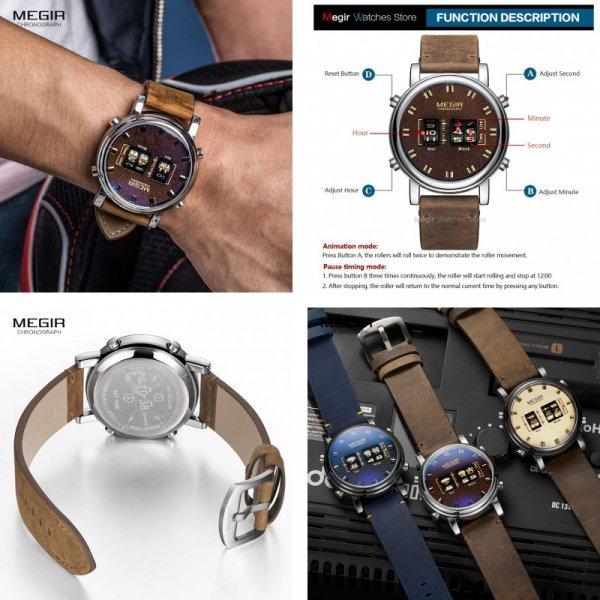 Наручные часы для мужчин MEGIR