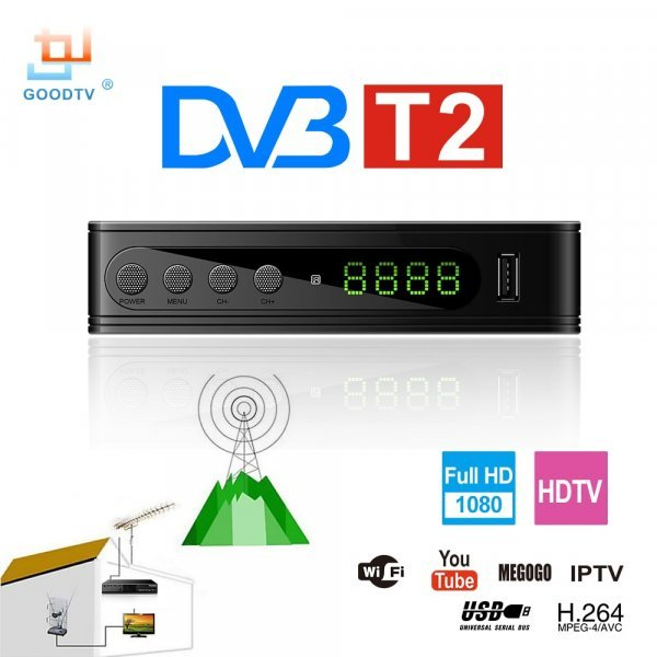 ТВ-приставка GOODTV DVB-T2