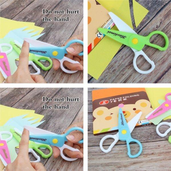 Ножницы для детей ZYCC (3 цвета)