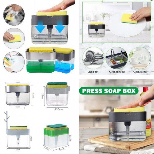 Механический дозатор для мыла