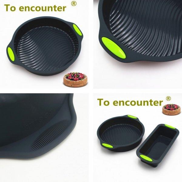 Силиконовые 3D формы для выпечки To encounter (10 видов)