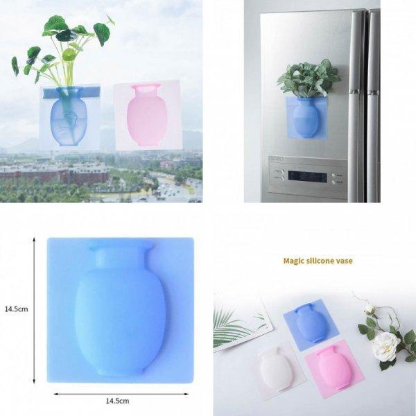 Необычная силиконовая ваза (3 цвета)