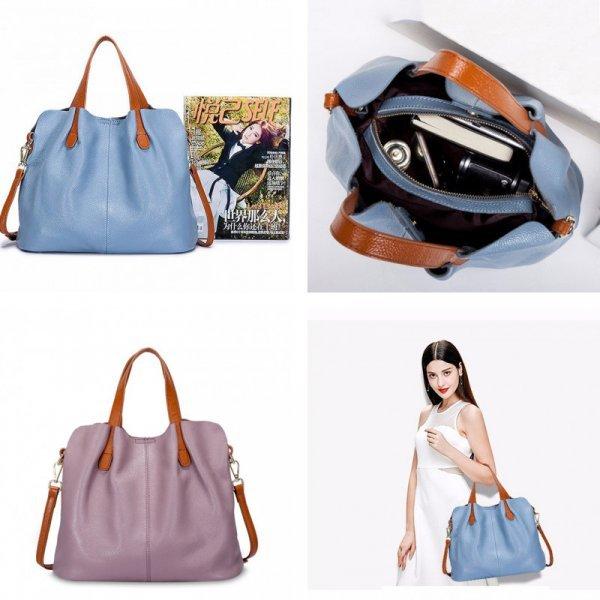 Кожаная сумка для женщин YILIAN (5 цветов)