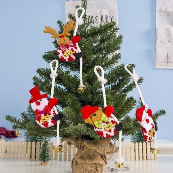 Милые игрушки на елку (1 шт, 44 вида)