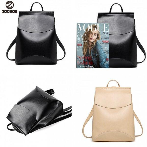 Молодежный рюкзак Zocilor для модниц любого возраста  (27*34*13 см, 14 цветов)
