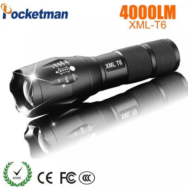 Мощный светодиодный фонарь POCKETMAN (4000LM-8000LM)