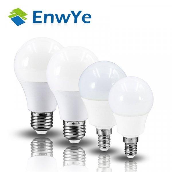 Светодиодная лампочка EnwYe (6 видов)