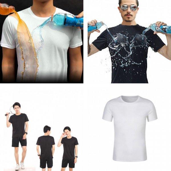 Влагоустойчивая футболка для мужчин (3 цвета, 6 размеров)