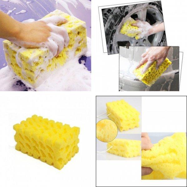 Шикарная губка для мытья кузова авто VODOOL (17*10*7.5 см)