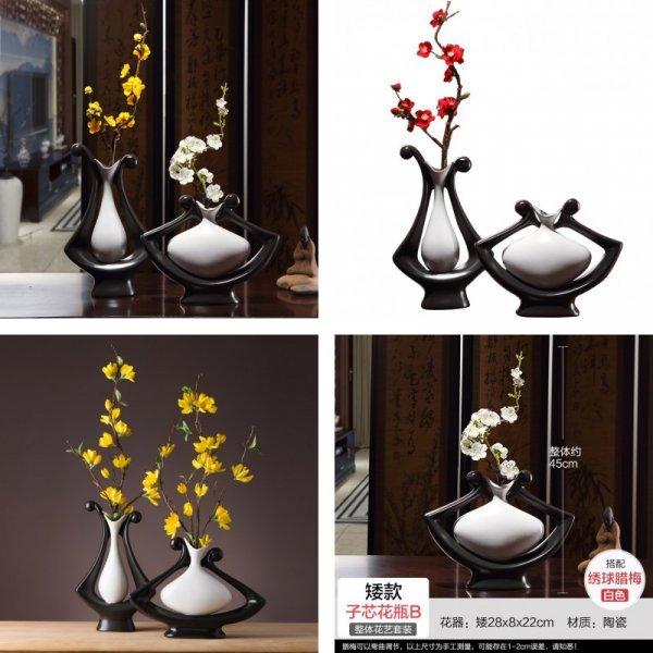 Керамическая ваза (3 вида)