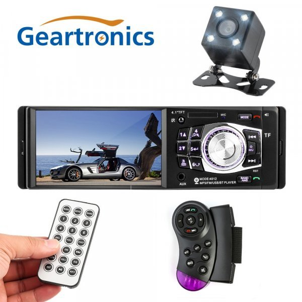 """Магнитола для авто Geartronics 4.1"""" ( tft, Bluetooth 2.0  1 din USB)"""