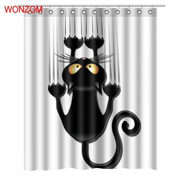 Чумовая шторка для ванной Wonzom