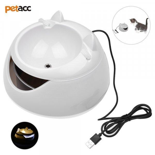 Питьевой фонтанчик Petacc с автоподсветкой