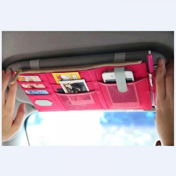Мульти кармашек для козырька в машине CHIZIYO (4 цвета, 277*117 мм)