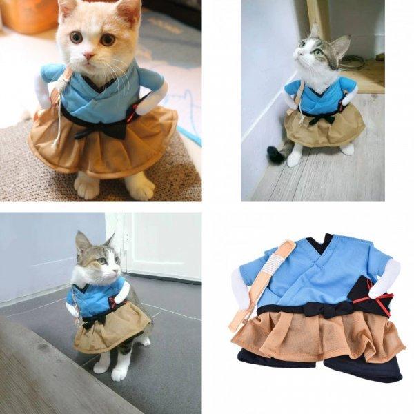 Забавный костюм для кошек HAPPIERPETS (4 размера)