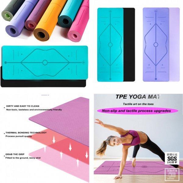 Коврик для йоги (6 цветов)