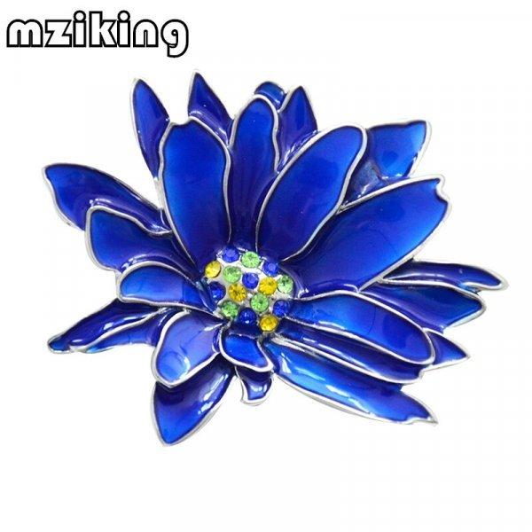 Яркая брошь Mziking