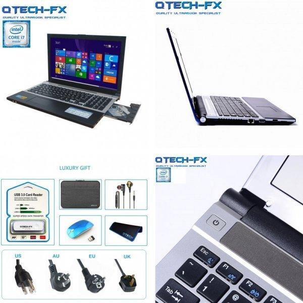 """Лучший ноутбук 15,6""""  QTECH-FX (2 цвета)"""