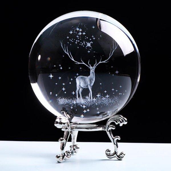 3D шар с фигуркой как в детстве (2 размера)