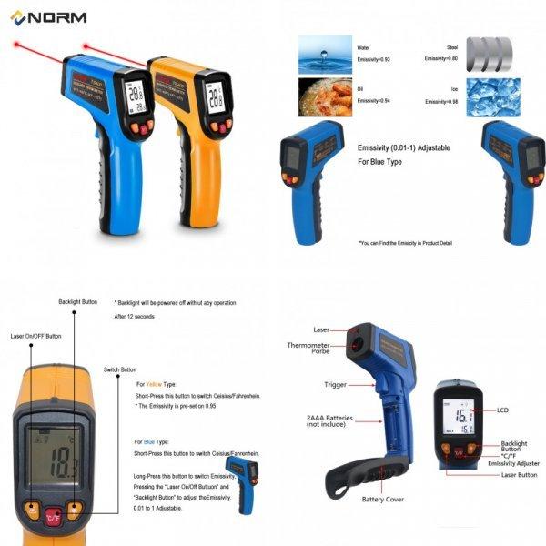 Бесконтактный термометр NORM