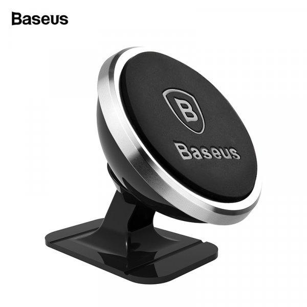 Магнитный держатель для смартфона Baseus (для iPhone, Samsung)