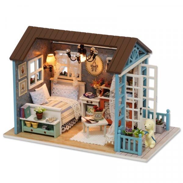 Миниатюра настоящего Дома с игрушками для детей