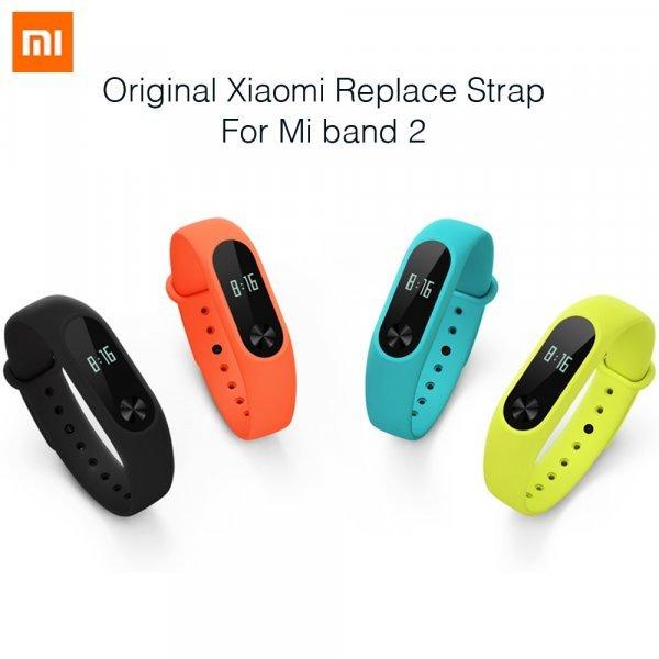 100% оригинал! Ремешок для Xiaomi Mi Band 2