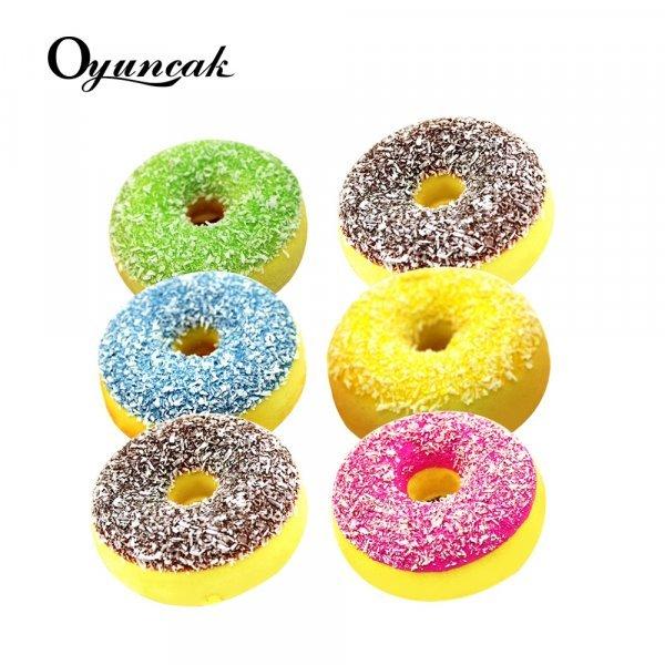 Милый пончик от стресса Oyuncak  (5 цветов, 6*3 см)