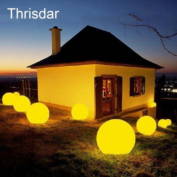 Светодиодный Шар для сада или бассейна на пульте д/у Thrisdar