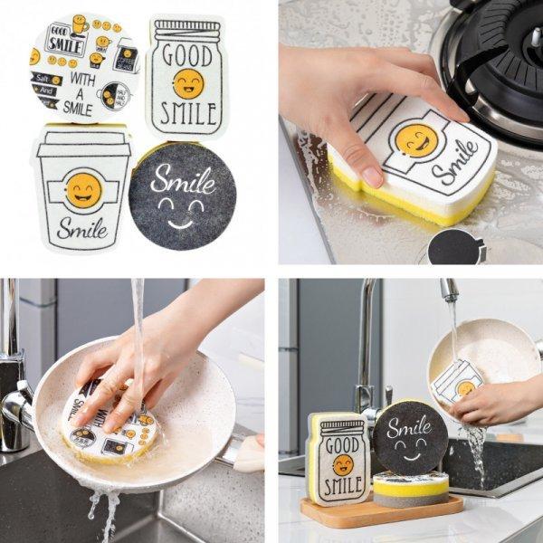 Губка для посуды E-SHOW (4 шт)