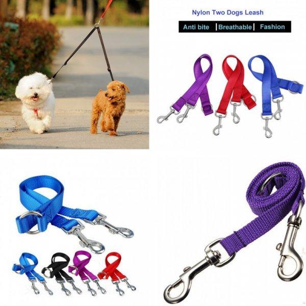 Поводок для выгула Двух собак Dogstory